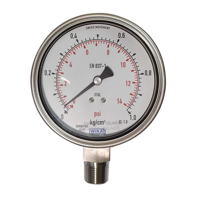 Jual Wika Pressure Gauge Di Samarinda Wa 082160307043 Valve And Instrument Expert